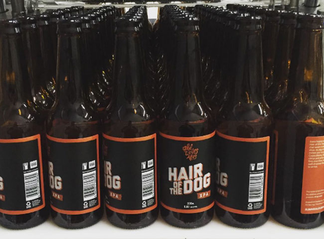 Hair of the dog XPA in bottles! - header image